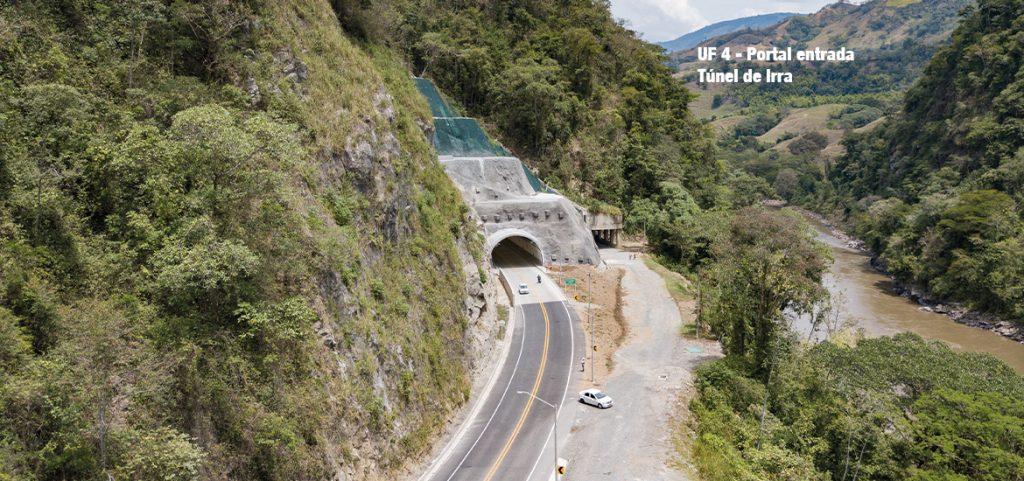 UF 4- Portal entrada Túnel de Irra